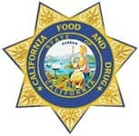 California Food and Drug License Logo